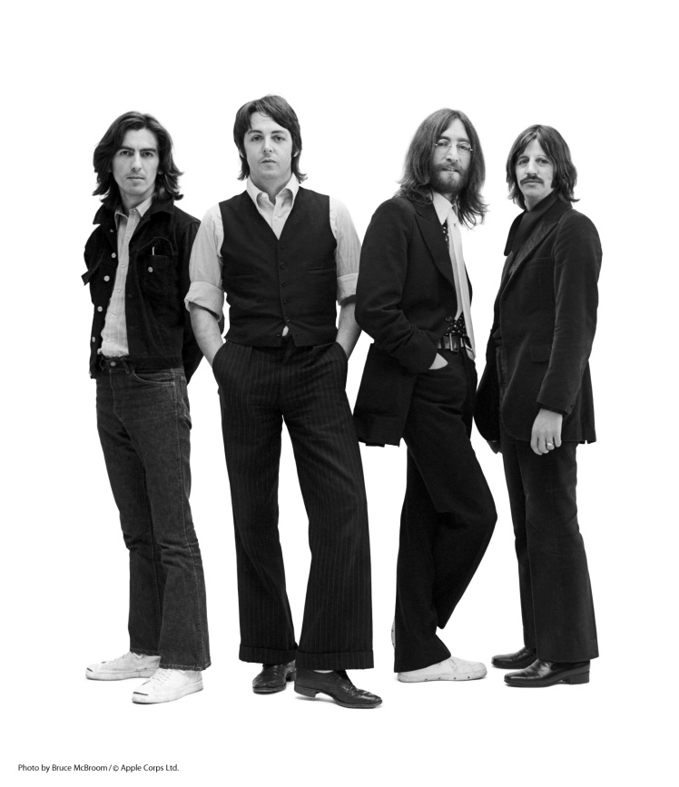 The Beatles. I have a sneaking feeling John, Paul, George and Ringo were not avid joggers...