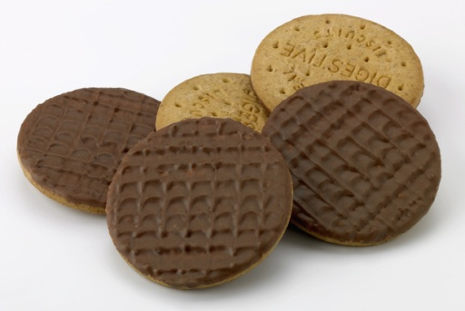 Biccies. Can't live without them.