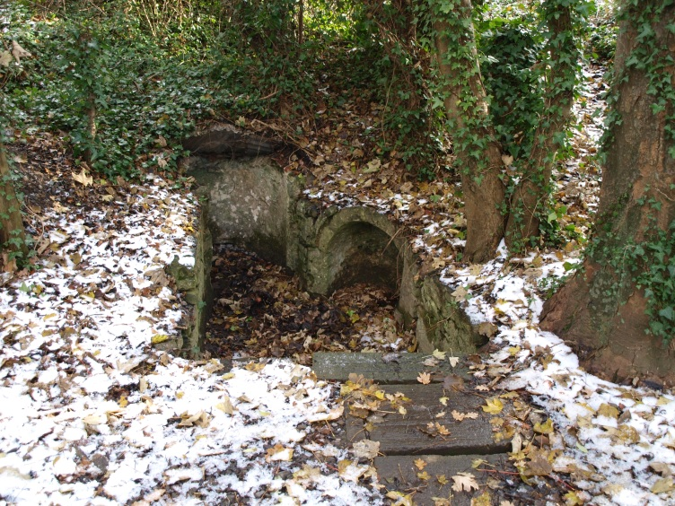 St. Catherine's Well. It's in need of some serious TLC.