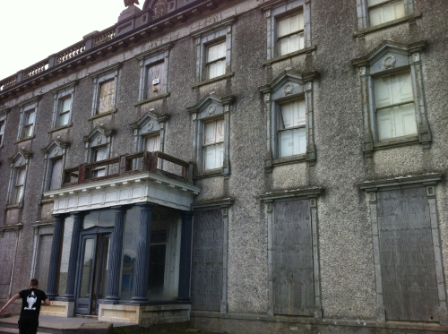 Loftus Hall. Ireland's most haunted house. (And no, I won't make any jokes about ghost estates).