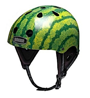 Nutcases make the coolest bike lids. My wife wants one of these one day...