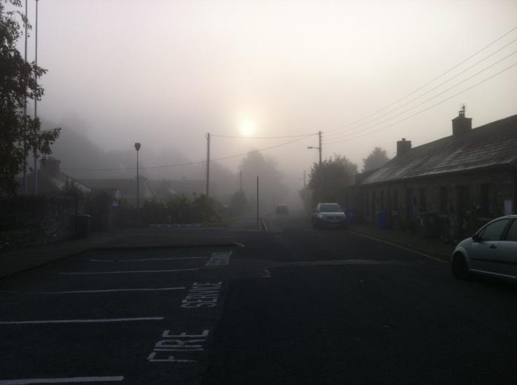 Misty morning on the Lane.