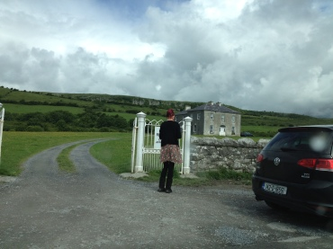 Father Ted is NOT at home...