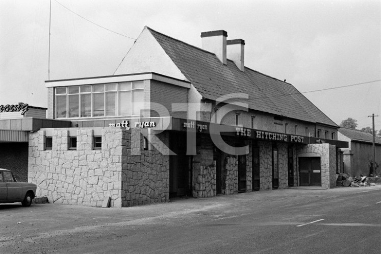 The Hitching Post pub, Leixlip (1972)