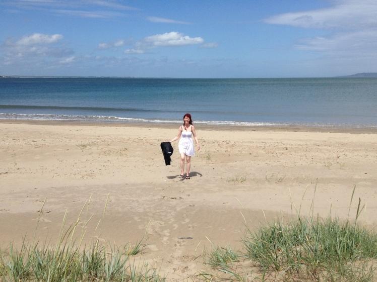 S-on-beach