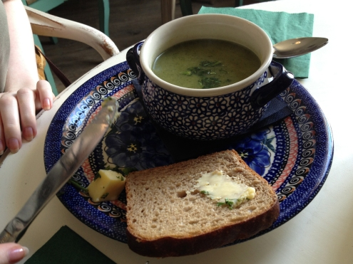 Soup from Hazel Mountain