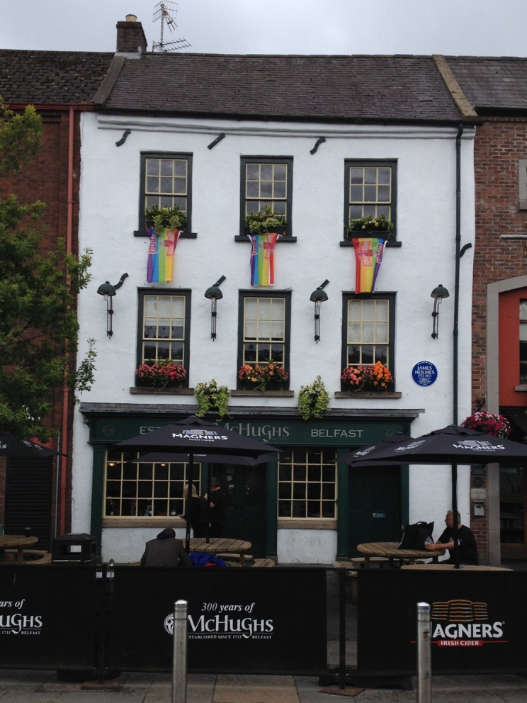 The oldest pub in Belfast, apparently!