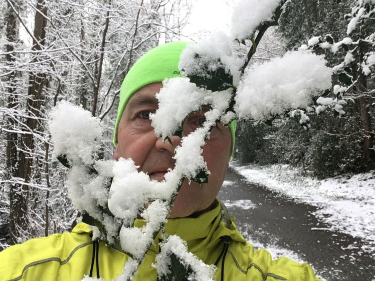 selfie-snow