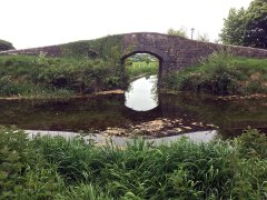 The Milltown Feeder joins the Barrow Line