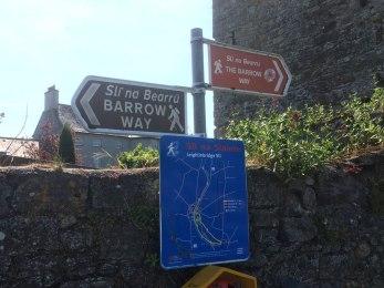 Signage at Leighlinbridge