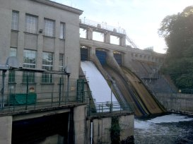 dam-outflow