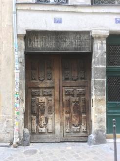 A doorway in Le Marais