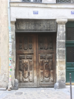 A doorway in Le Marais